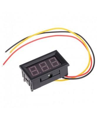 Red LED Mini Digital Voltmeter DC 0 - 99.9V