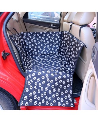 Waterproof Safety Carriers Dog  Seat Cover Pet Carrier Bag Foldable Mats Hammock Cushion