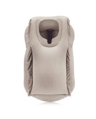 Frontal Travel Pillow Inflatable Air Bolster Comfortable Sleep  on Plane