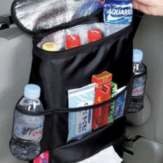 Creative Multifunctional Heat Preservation Hanging Storage Bag for Car