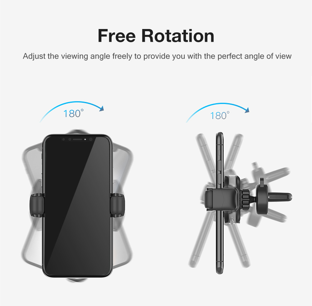 CW5 2 in 1 New-generation Rolling Elastic Car Phone Holder Wireless Charging 75% Efficiency